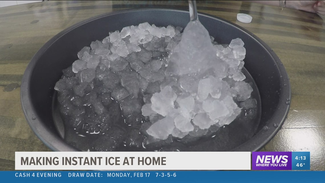 Science with Sabrina: Supercooled water