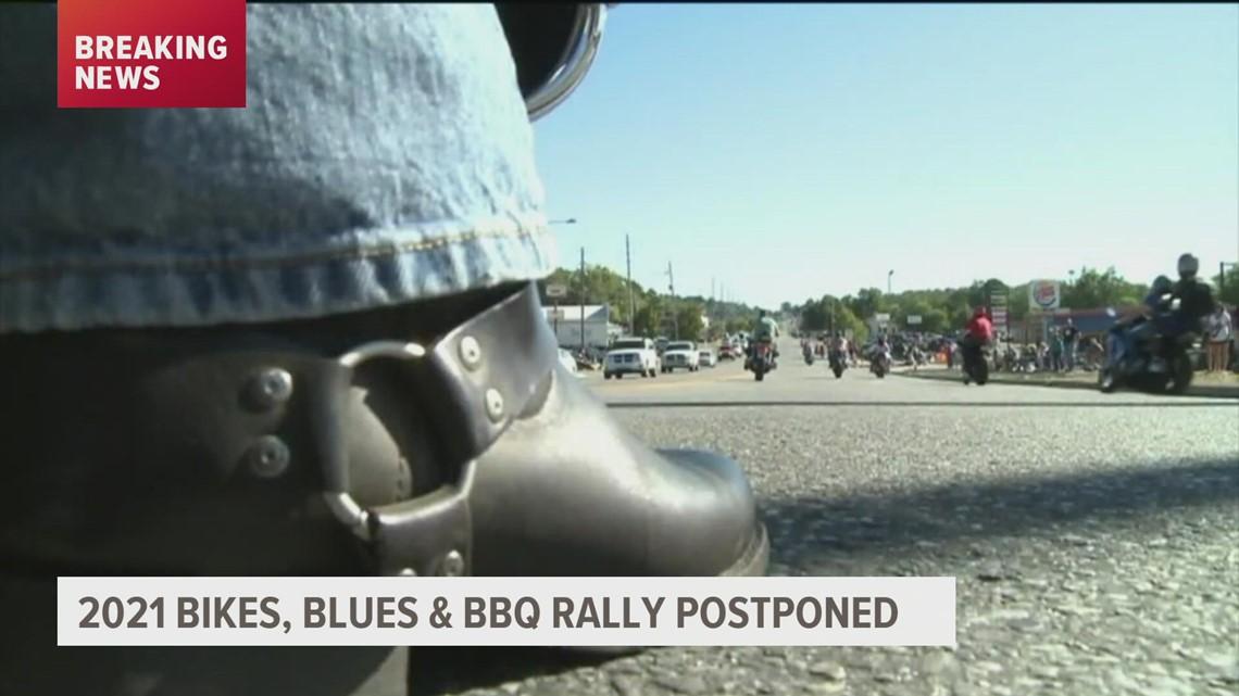 Bikes, Blues & BBQ 2021 rally postponed