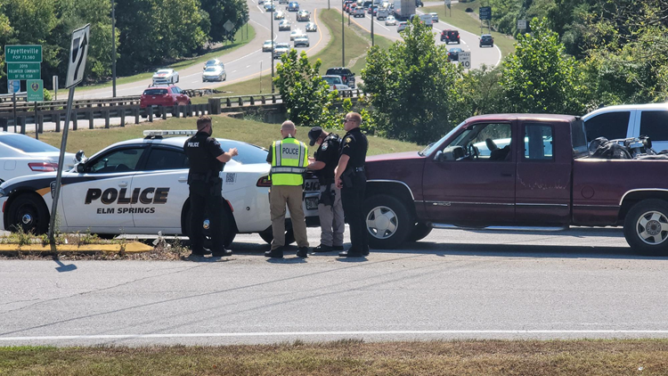 Police Chase across NWA ends in Fayetteville