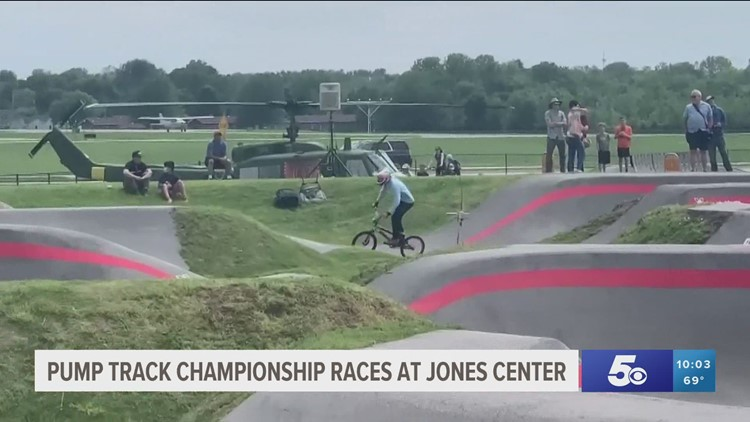 Jones Center in Springdale hosts the Red Bull UCI Pump Track World Championships