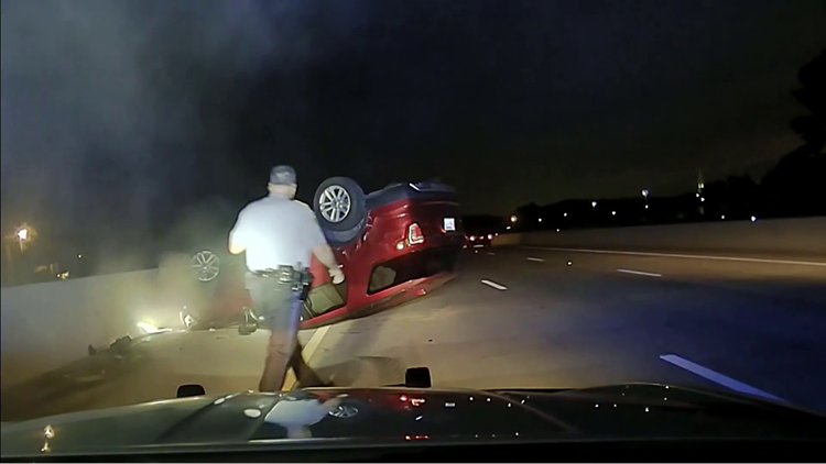 Lawsuit filed against Arkansas trooper over PIT maneuver that flipped pregnant woman's car
