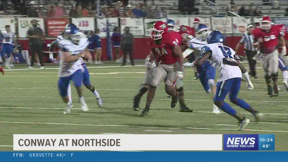 Northside falls to Conway