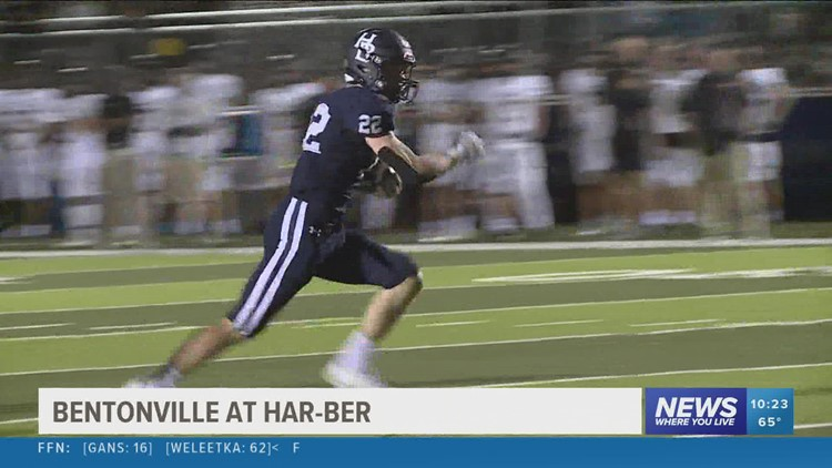 Bentonville takes care of business over Har-Ber