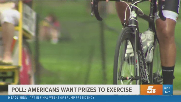 Americans Want Prizes To Exercise