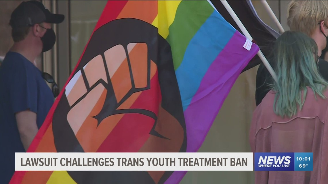 Lawsuit challenges trans youth treatment ban in Arkansas