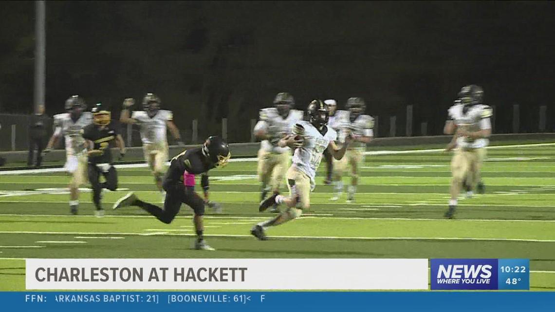 Charleston defeats Hackett