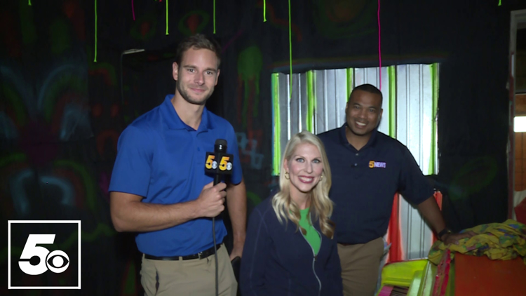 Watch: 5NEWS Morning Team scream their way through Fort Smith haunted house