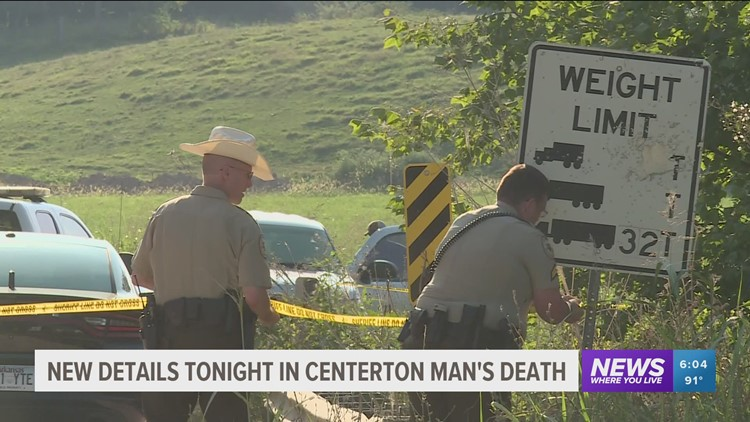 Police: Missing Centerton man was killed after being run over by vehicle doing donuts in a field