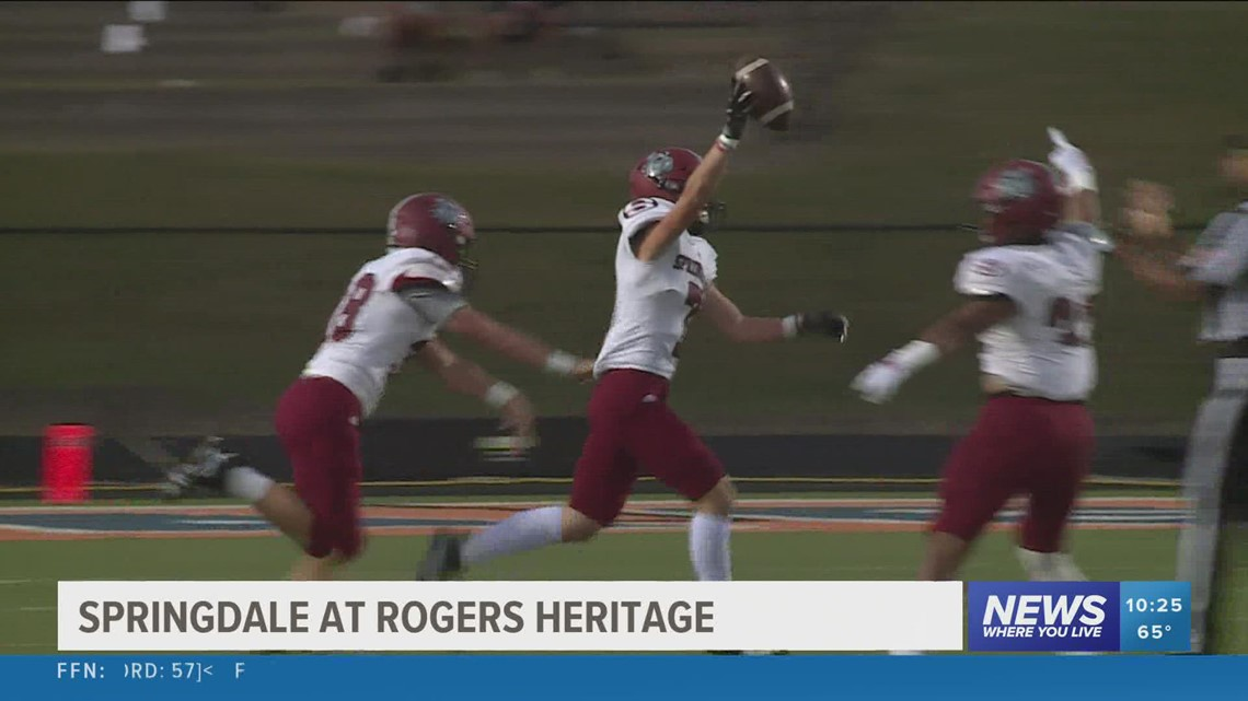 Springdale defeats Rogers-Heritage