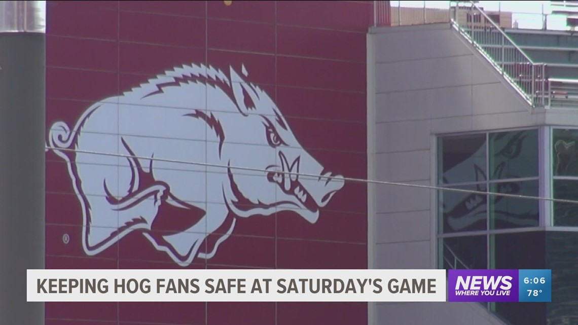 Who Can Get Into the Razorback Football Game This Weekend?