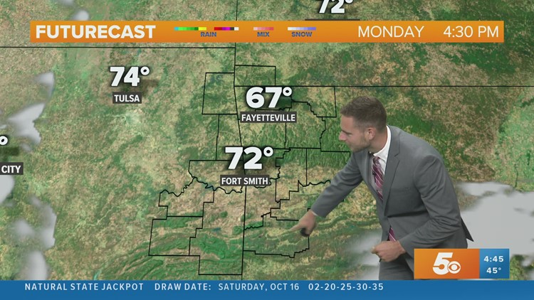 Fall-like weather continues with some cool mornings