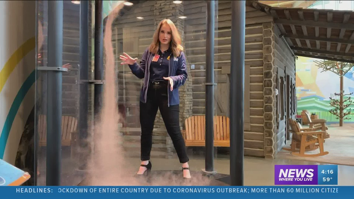 Science with Sabrina: Touchable tornado