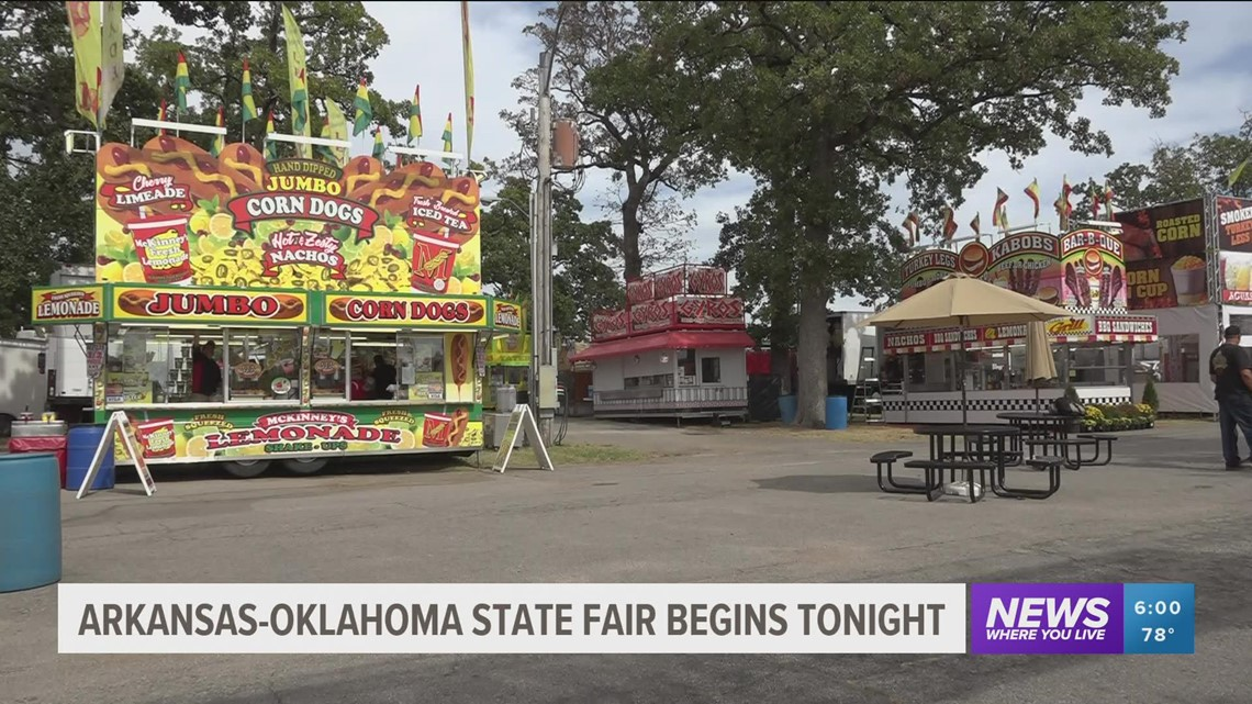 Arkansas-Oklahoma State Fair kicks off today in Fort Smith