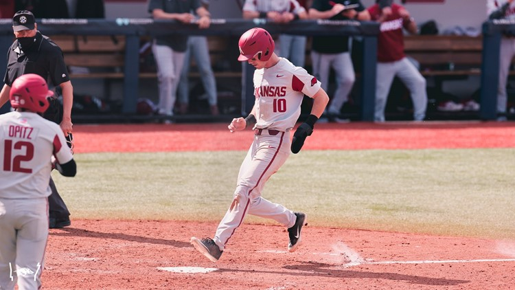 Diamond Hogs split double dip with Ole Miss