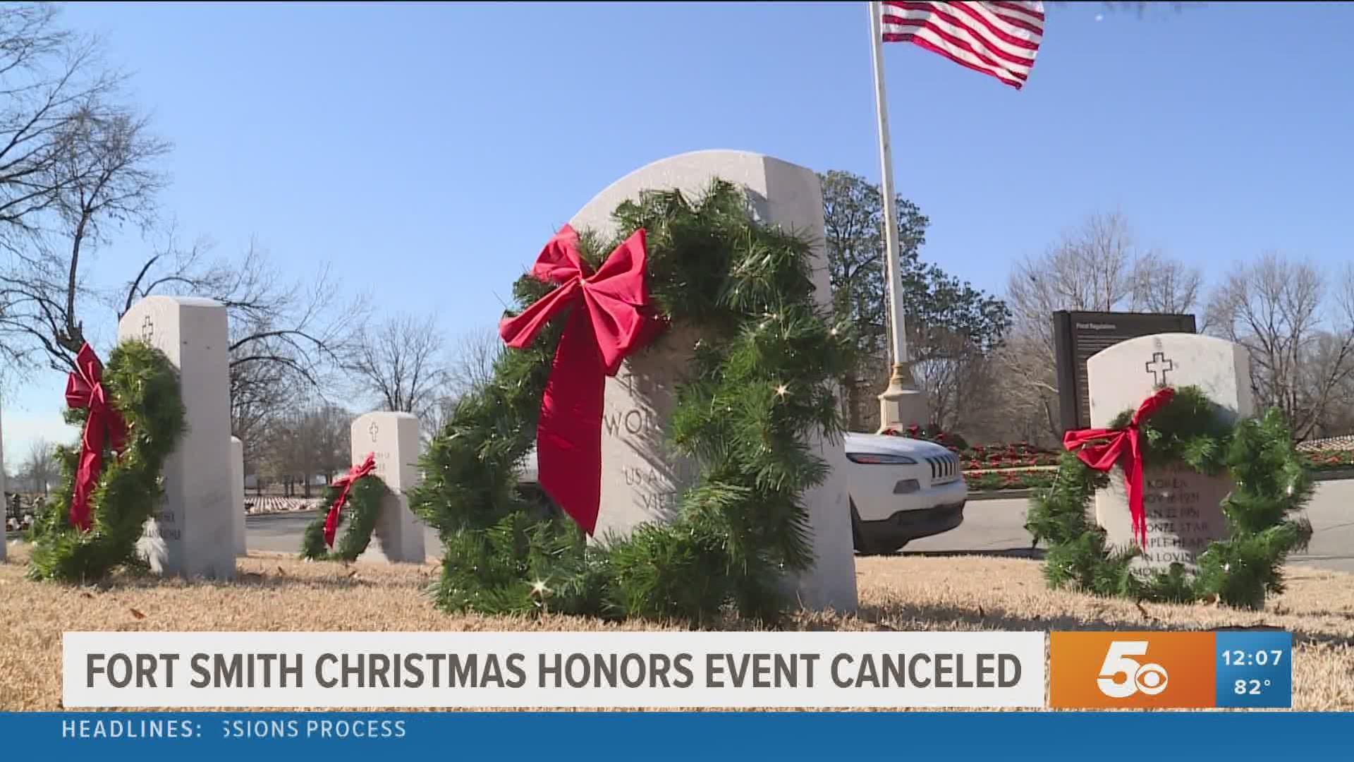Fayetteville Ark Christmas Activities 2020 Fort Smith Christmas Honors program cancels 2020 events