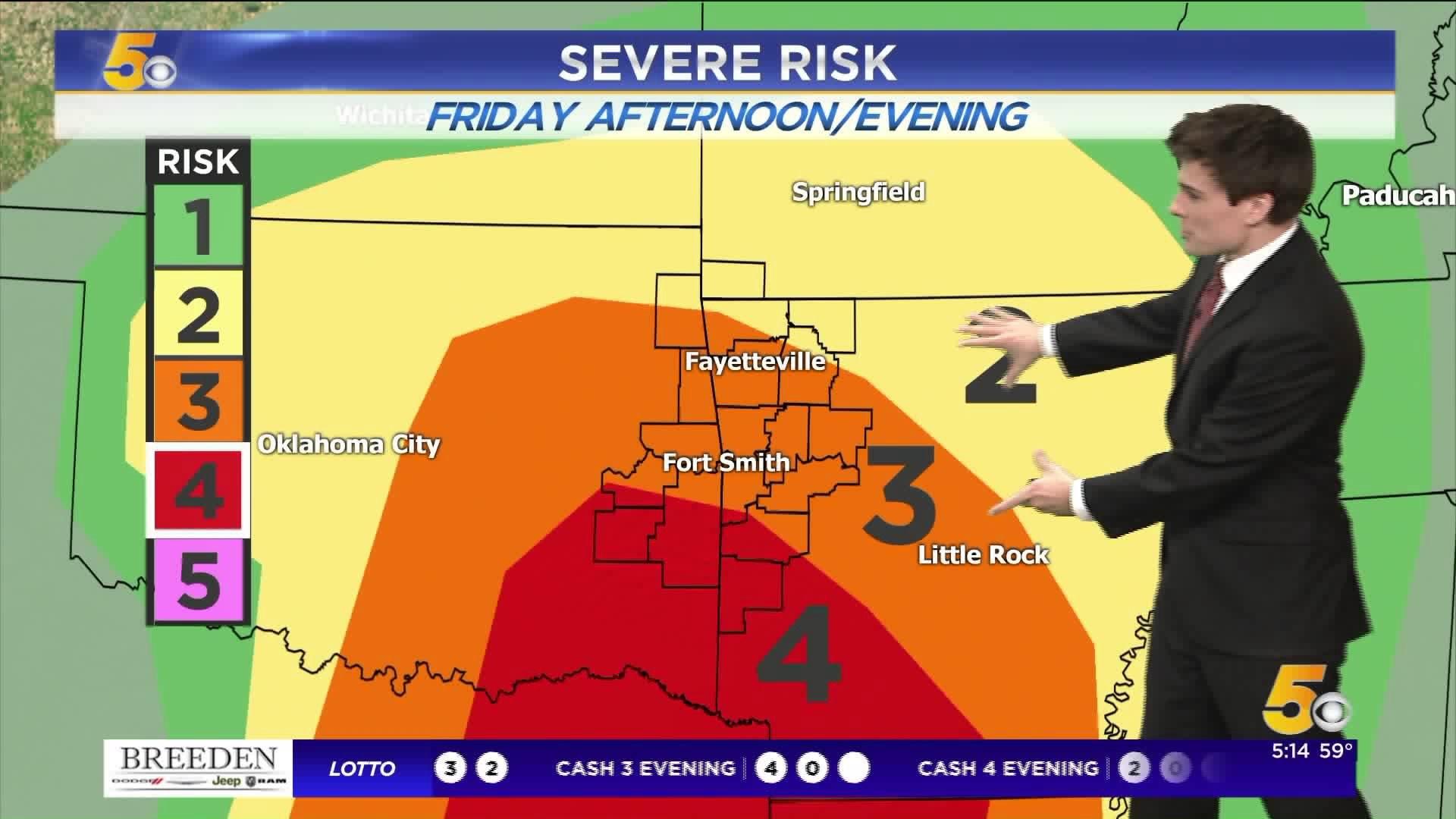 Friday Severe Storm Breakdown | 5newsonline.com