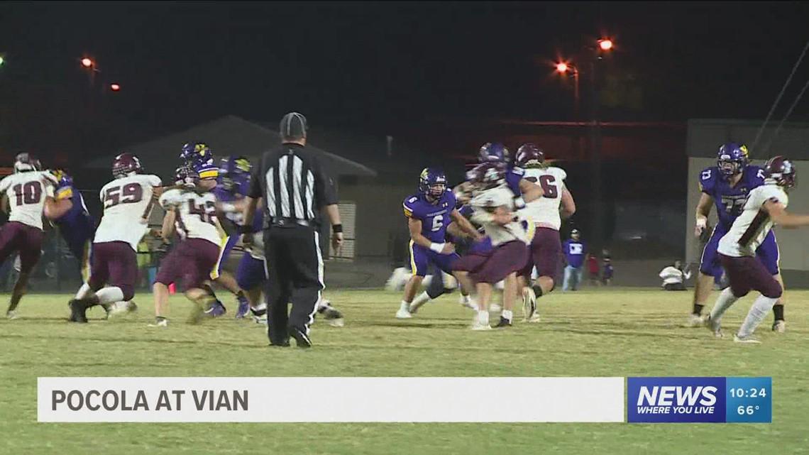 Vian knocks off Pocola