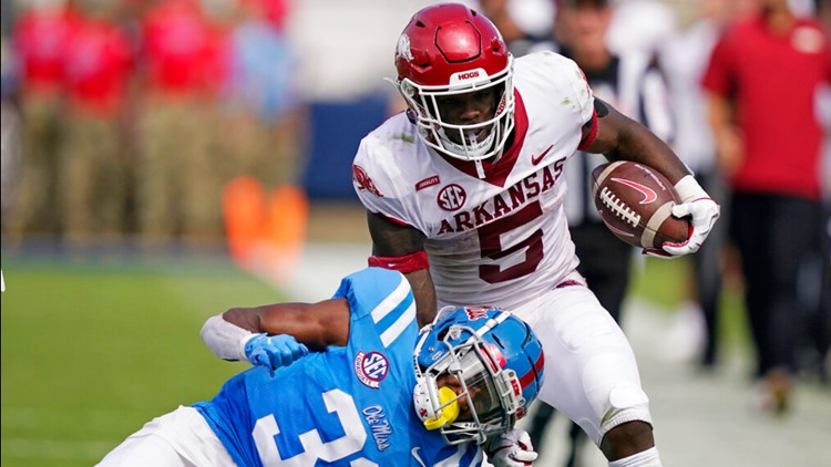 Hogs ranked No. 17 in AP Poll