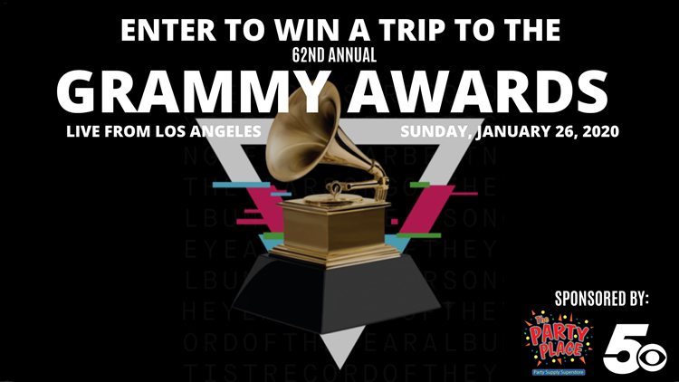 62nd GRAMMY Awards Trip Giveaway