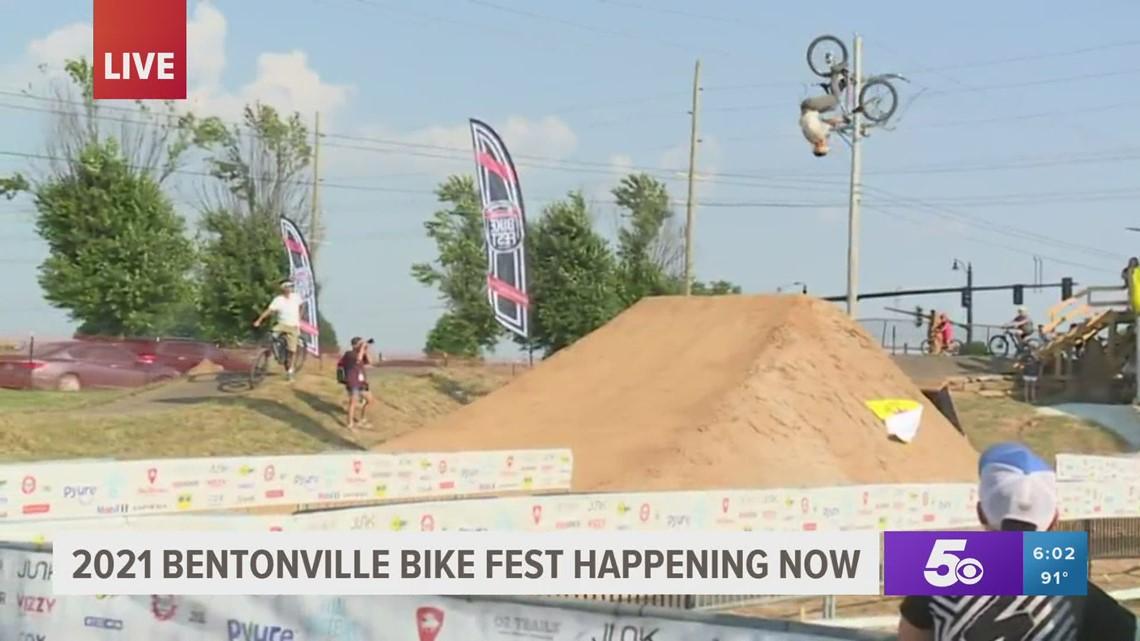 Bentonville Bike Fest underway this weekend