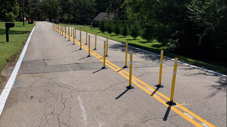 City of Fort Smith installs new traffic calming devices on Cliff Drive
