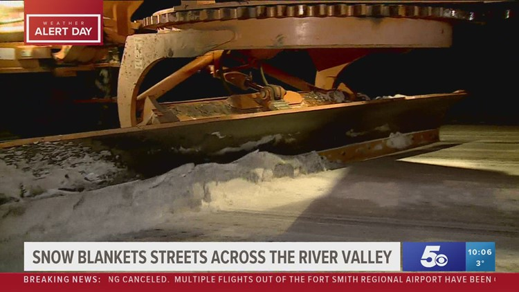 River Valley emergency workers on standby as winter weather continues