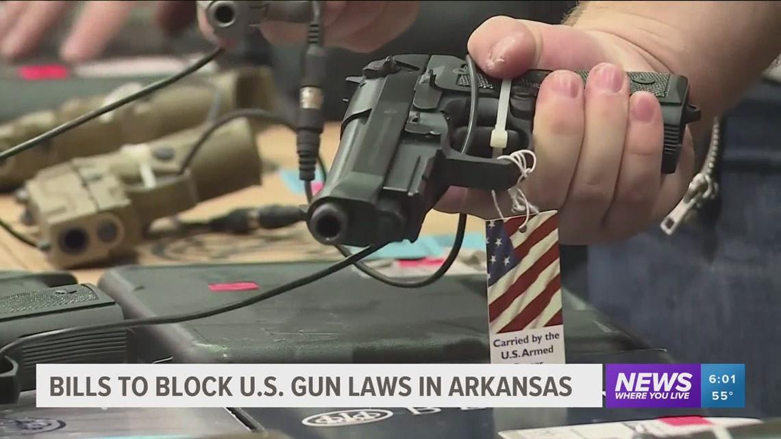 Arkansas gun bills aim at restricting federal government oversight