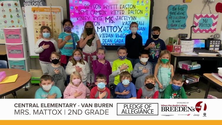 Mrs. Mattox 2nd Grade Central Elementary, Van Buren