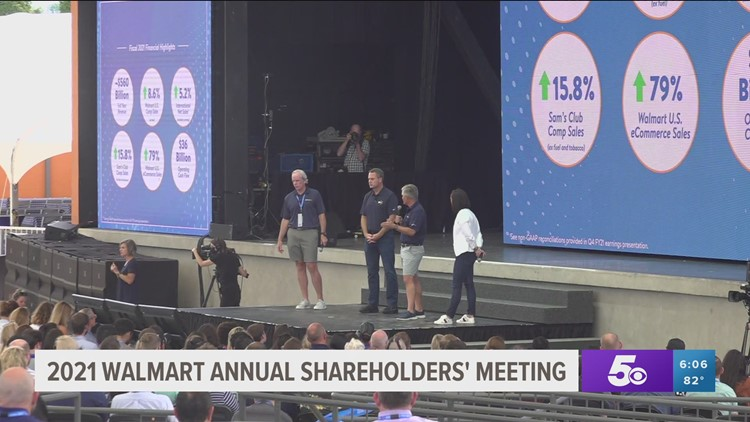 Walmart hosts 2021 Annual Shareholders' Meeting