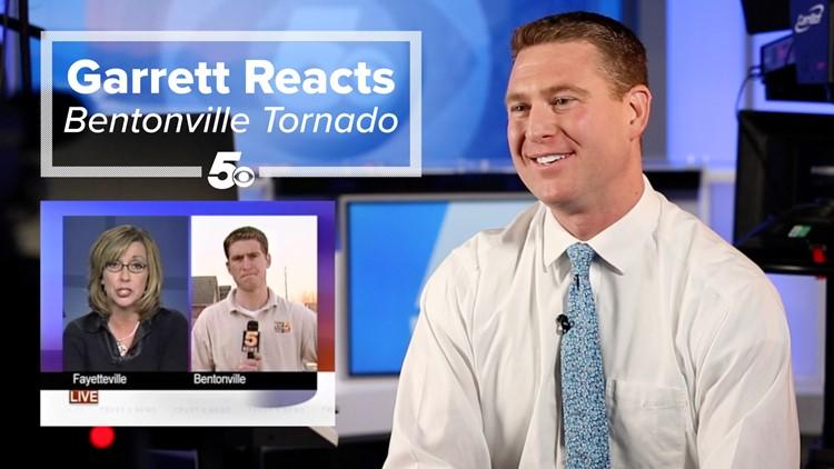 Garrett Reacts - Bentonville Tornado