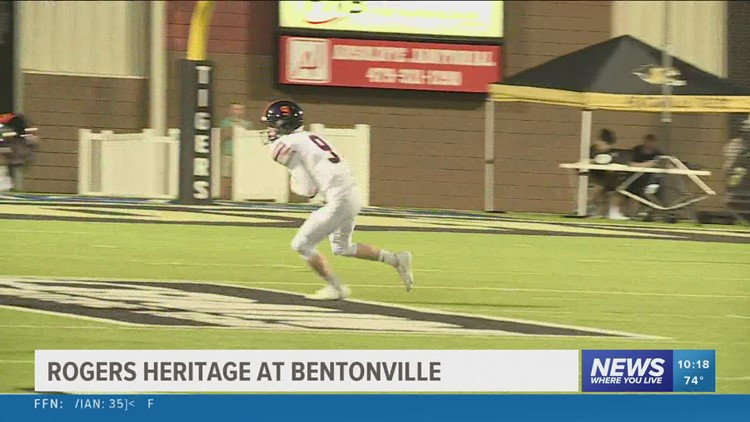 Bentonville knocks off Rogers Heritage