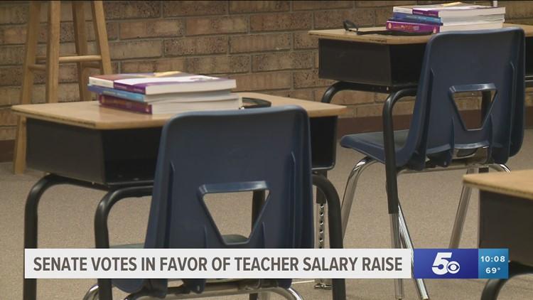 Arkansas Senate approves bill to raise teacher salaries
