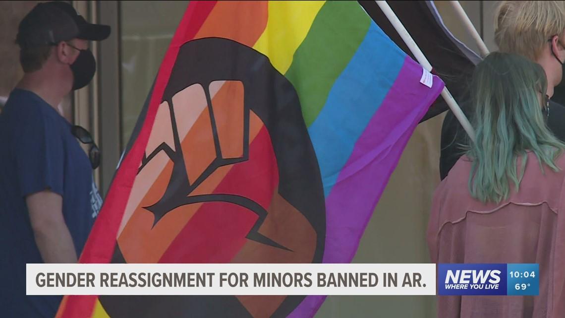 Local doctor reacts after Arkansas lawmakers override transgender bill veto