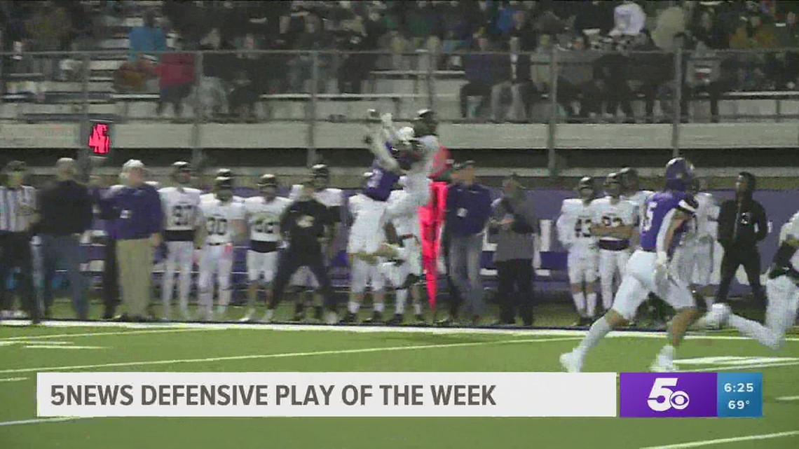 Defensive Player of the Week 10/20