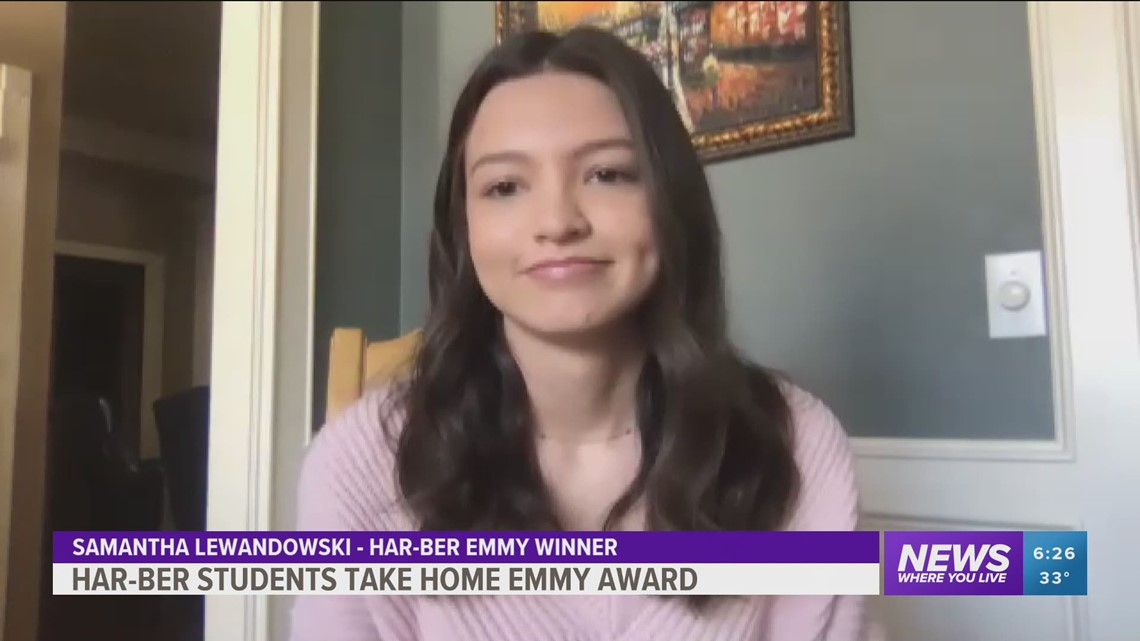 Har-Ber students win Emmy award