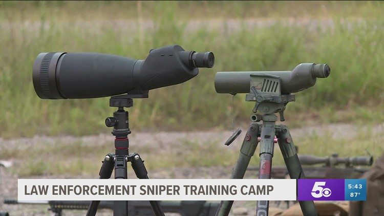 Law enforcement attends sniper training camp