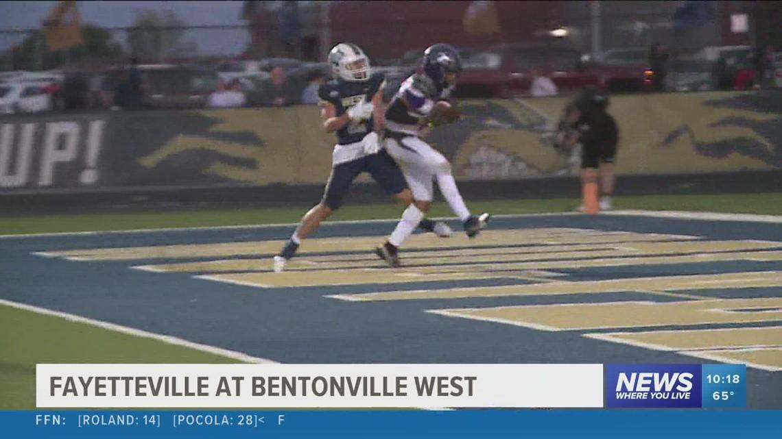 Fayetteville defeats Bentonville West