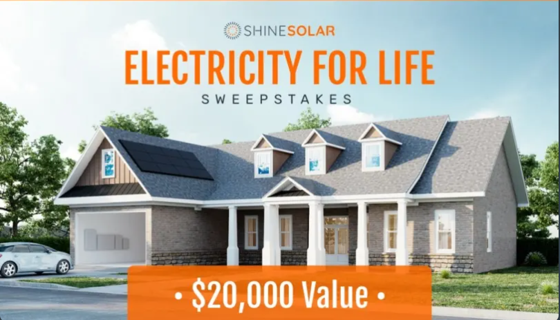 Electricity for Life Sweepstakes
