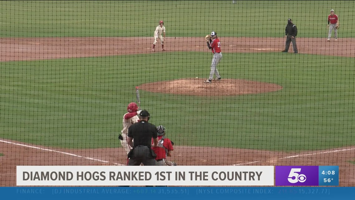 Diamond Hogs ranked 1st in the country