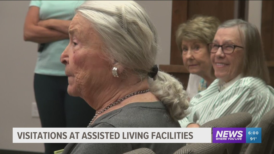 Rising COVID-19 cases in Arkansas causing some assisted living facilities to limit visitations again