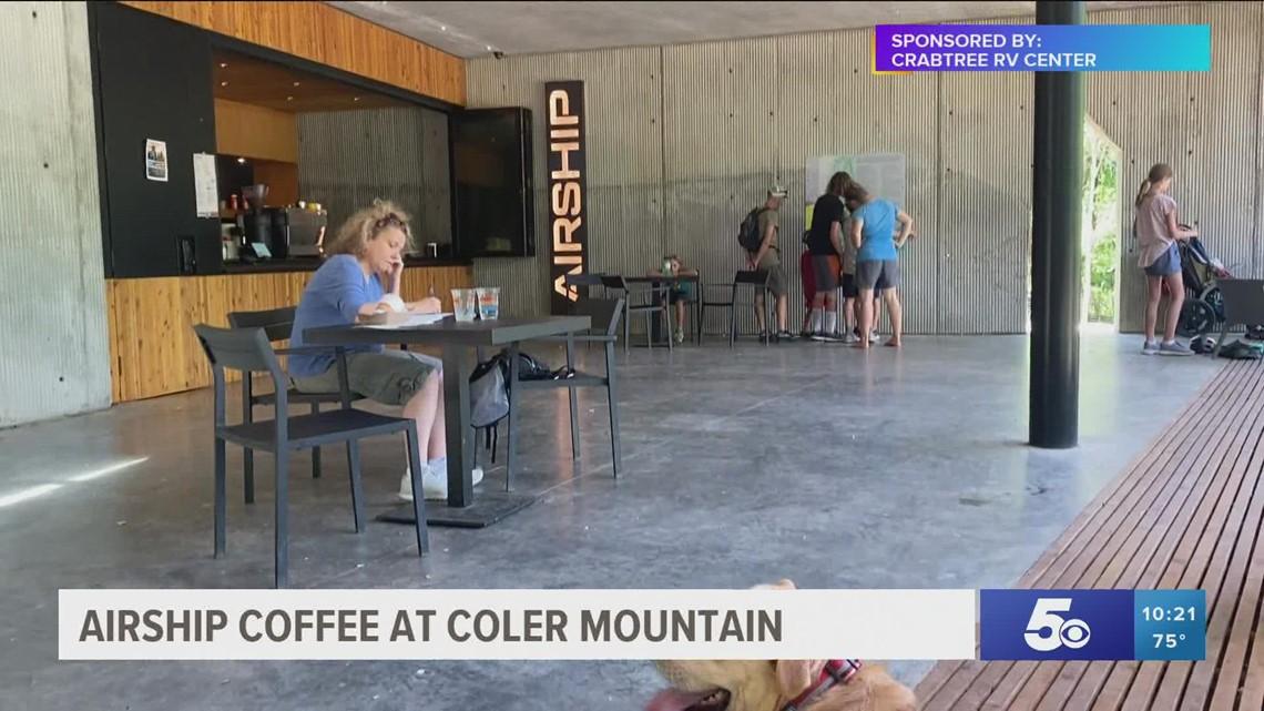 Adventure Arkansas: Airship Coffee at Coler Mountain