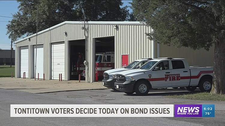 Voters asked to decide on bond issue in Tontitown special election