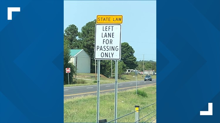Local law agencies warn public of intent to enforce 'left lane for passing' law in Arkansas
