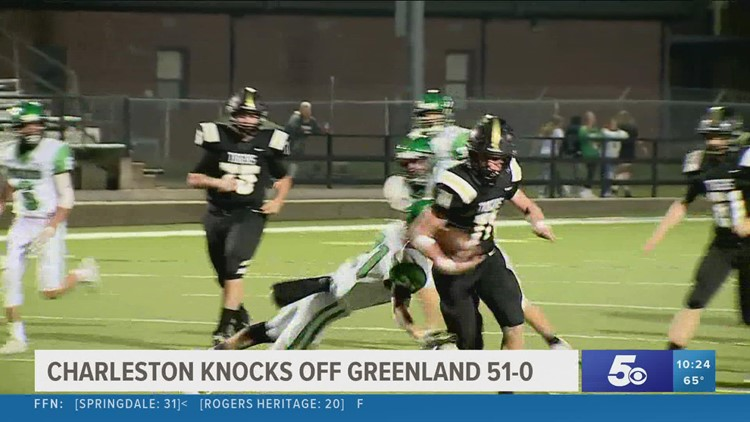 Charleston defeats Greenland