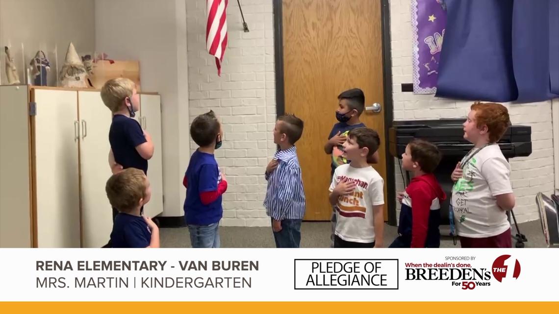 Mrs. Martin, Kindergarten Rena Elementary Van Buren