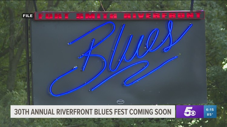 Free admission for 30th annual Riverfront Blues Festival