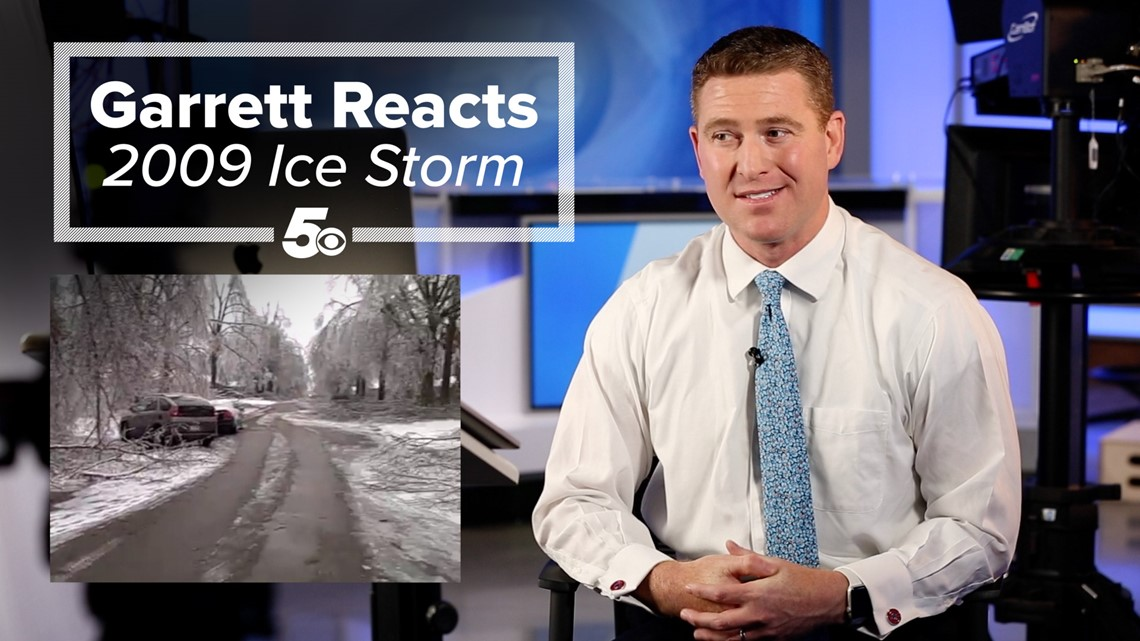 Garrett Reacts - 2009 Ice Storm