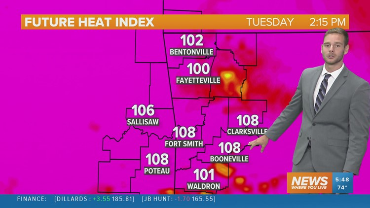Another hot and humid day
