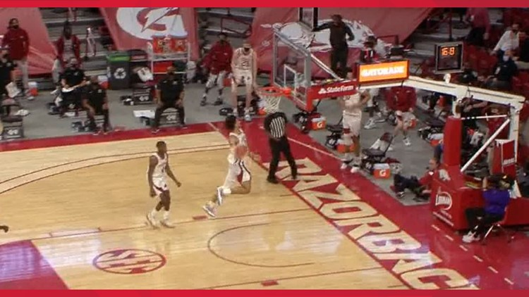 Hogs handle LSU for 9th straight SEC win