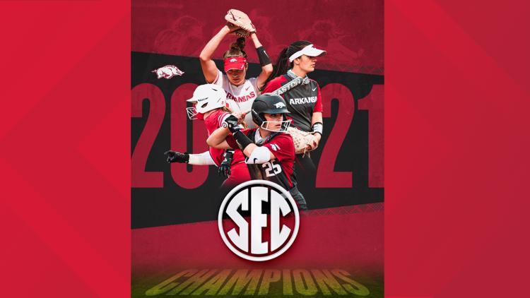 Arkansas softball clinches share of SEC Title